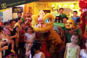 múa lân trung thu _ Rạng Danh Việt