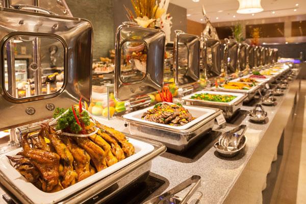tiệc buffet cho tiệc tất niên